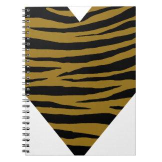 Drab Tiger GH Spiral Notebook