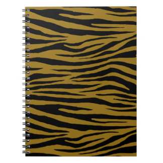 Drab Tiger Spiral Notebook