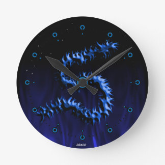 Draco Dragon Medium Clock