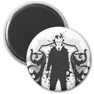 Draco Malfoy Dark Arts Design Magnet