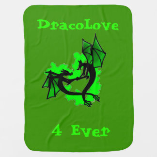 Dracolove baby blanket