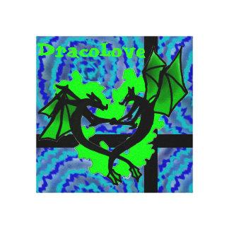 Dracolove Canvas print