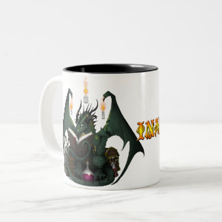 Draconic Coffee Two-Tone Coffee Mug
