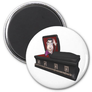 Dracula 2 Inch Round Magnet