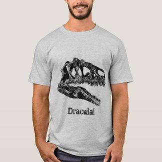 Dracula! Allosaurus Dinosaur Skull T-Shirt