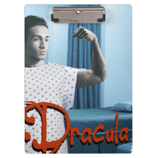 Dracula and the night nurse clipboard