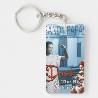 Dracula and the night nurse keychain