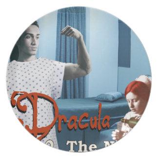 Dracula and the night nurse plate