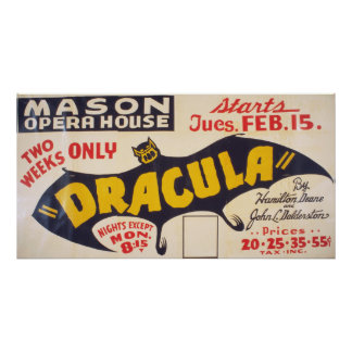 Dracula by Hamilton Deane Poster