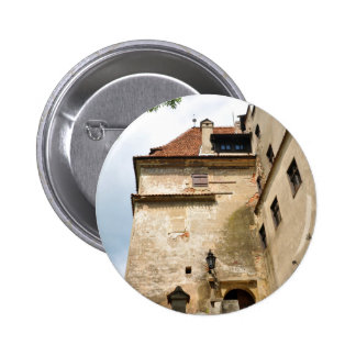 Dracula Castle in Bran, Brasov, Transylvania 2 Inch Round Button
