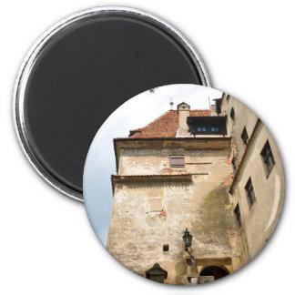 Dracula Castle in Bran, Brasov, Transylvania 2 Inch Round Magnet