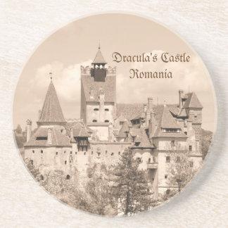 Dracula Castle in Transylvania, Romania Drink Coaster