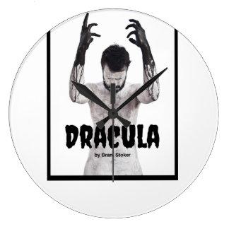 Dracula Dark wall Clock Shadow of the day