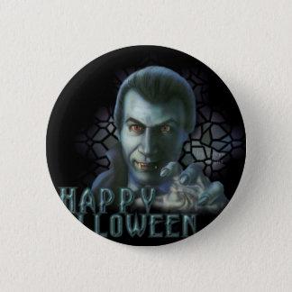 Dracula Halloween 2 Inch Round Button