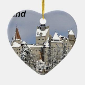 Dracula--[kan.jpg Ceramic Heart Ornament