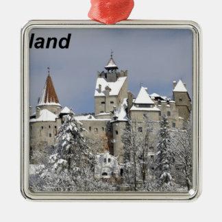 Dracula--[kan.jpg Silver-Colored Square Ornament