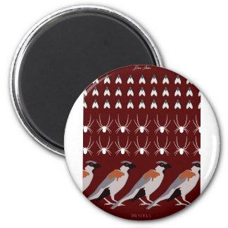 Dracula print magnet