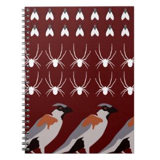 Dracula print notebook