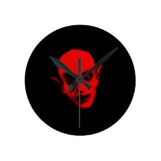 Dracula Round Clock