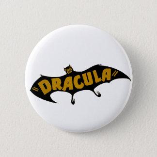 Dracula Vampire Bat 2 Inch Round Button