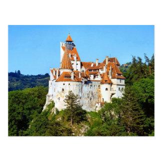 Dracula's Castle, Bran, Transylvania Postcard