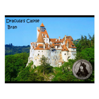 Dracula's Castle, Bran, Transylvannia Postcard