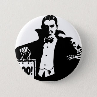 Dracula's Happy Halloween 2 Inch Round Button