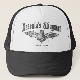 Dracula's Wingman Trucker Hat