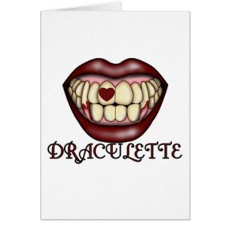 Draculette Card