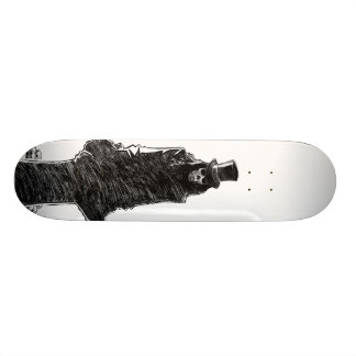 Dracuskull Custom Skate Board