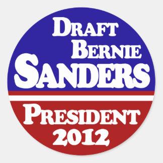 Draft Bernie Sanders Stickers