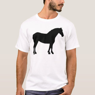 Draft Horse (black) T-Shirt
