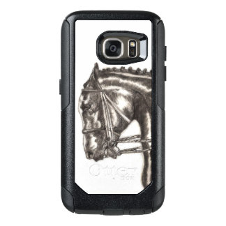 Draft Horse Hand Sketched Life Drawing. OtterBox Samsung Galaxy S7 Case