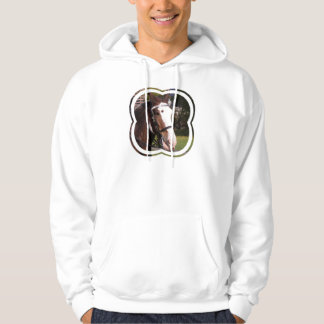 Draft Horse Rescue Men's Hooded Sweatshirt