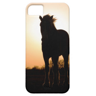 Draft horse silhouette iPhone 5 cover