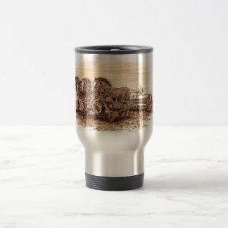 Draft Horses Travel Mug