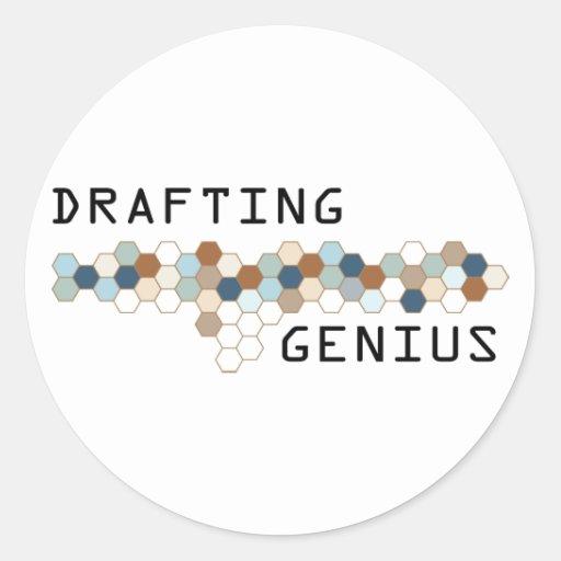 Drafting Genius Sticker