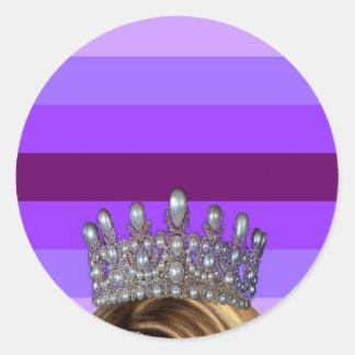 Drag Pride! Classic Round Sticker