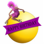 Drag Queen Happy Birthday Ornament Acrylic Cut Outs
