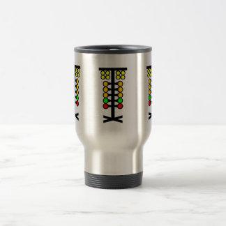 Drag Racing Staging Light Coffee Travel Mug