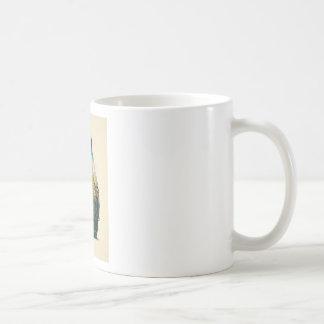 dragn classic white coffee mug