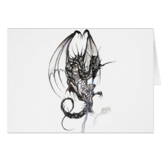 dragn greeting card
