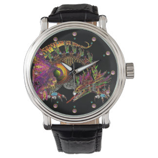 DRAGO / FANTASY DRAGON IN GOLD AND BLACK WATCHES