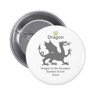 dragon 龍 竜 ピン