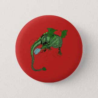 Dragon 2 Inch Round Button