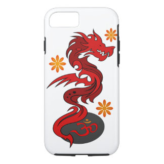 Dragon 58 Om flowers iPhone 7 Case