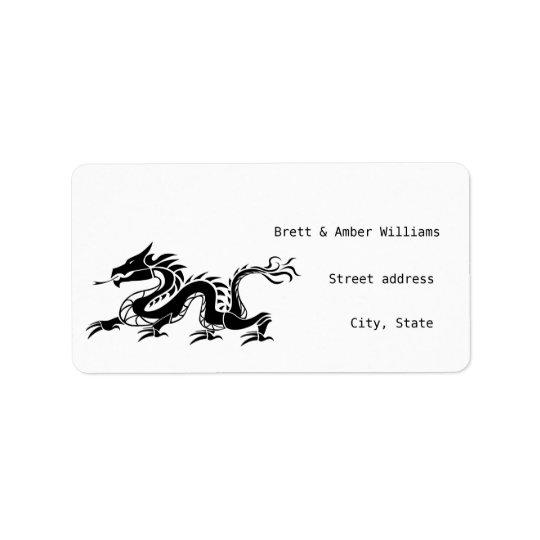 Dragon address labels