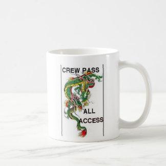 DRAGON ALL ACCESS PASS CLASSIC WHITE COFFEE MUG