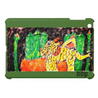 Dragon and emerald case for the iPad mini