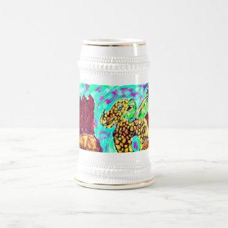 Dragon and Garnet Beer Stein